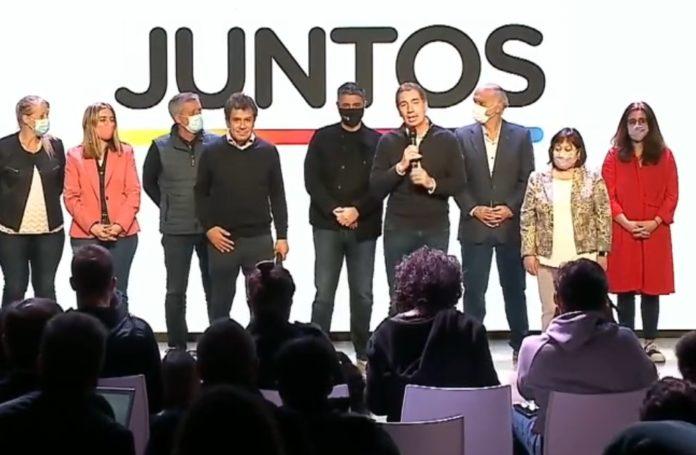 """Santilli compartió escenario con Manes: """"Somos un espacio diverso, pero estamos juntos"""""""