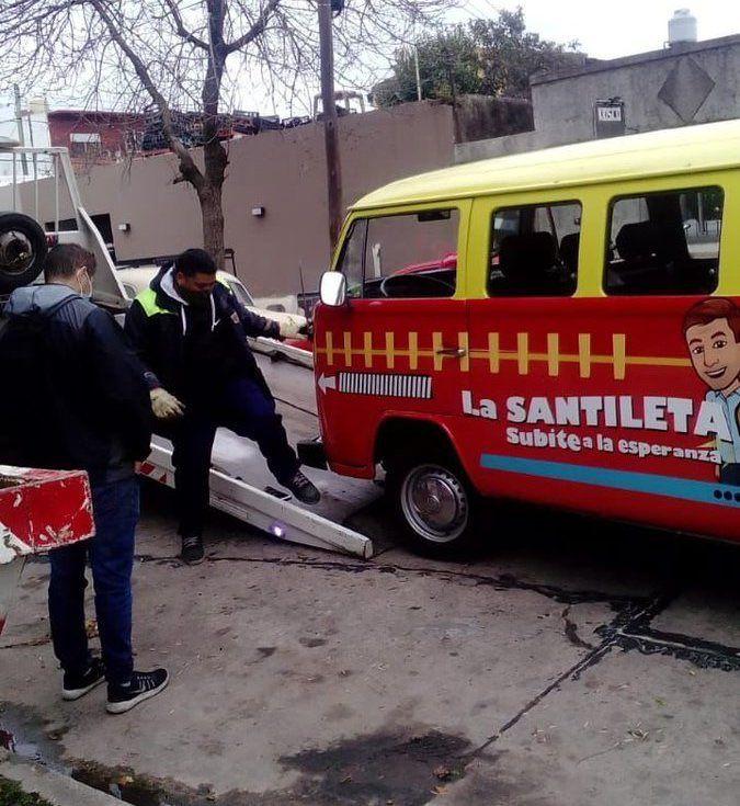 """La """"Santileta"""" terminó en boxes antes de tiempo y varios cargaron a Santilli"""