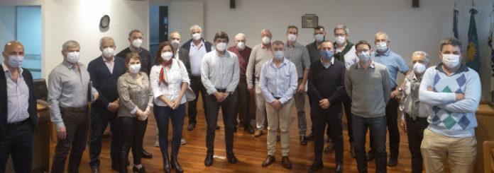 Entidades médicas bonaerenses analizaron la situación del sector en sede de FEMEBA