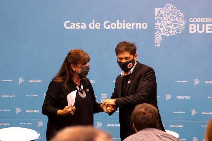 La ministra de Gobierno bonaerense saliente, Teresa García