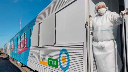 El Tren Sanitario llegará a Mar del Plata en su quinto recorrido