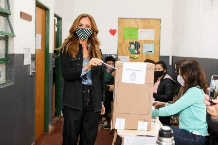 La primera candidata a diputada nacional por la provincia de Buenos Aires del Frente de Todos, Victoria Tolosa Paz