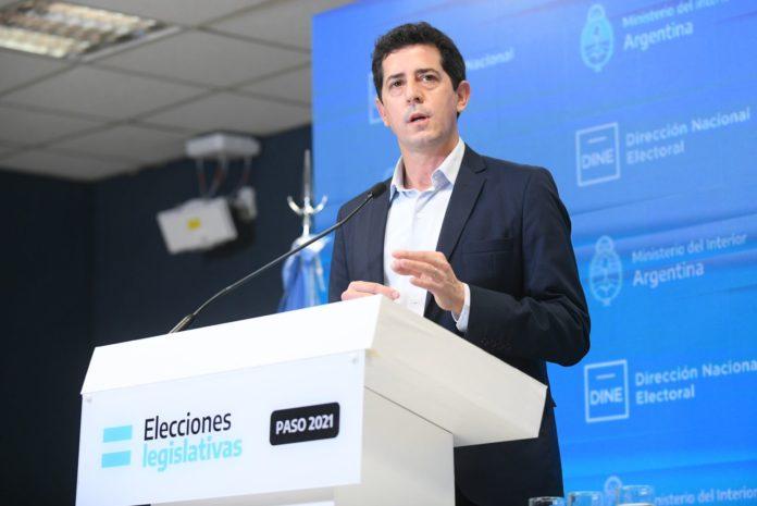 """El ministro del Interior, Eduardo """"Wado"""" de Pedro."""