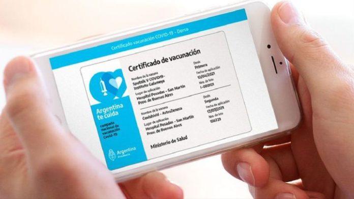 La Ciudad de Buenos Aires emite certificados a quienes se vacunaron en otros países.