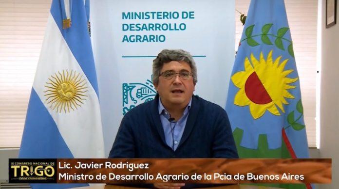 """Javier Rodríguez dijo que se espera """"una muy buena campaña de trigo"""" en la provincia"""