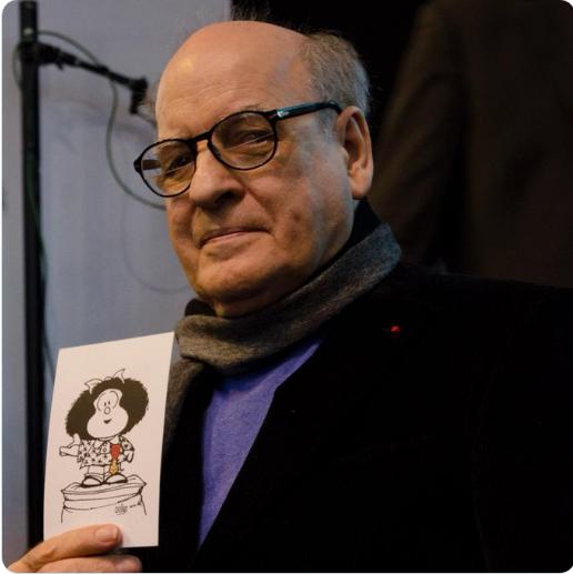 Artistas, familiares y vecinos homenajean a Quino en Mendoza