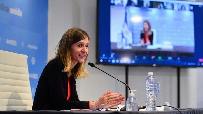 """La directora de la Anses afirmó que el Gobierno quiere """"dar respuesta a un problema de las argentinas y argentinos"""