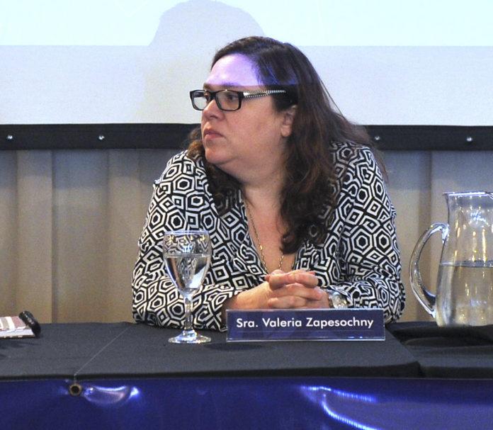 Valeria Zapesochny es oficialmente la nueva titular de la Secretaría de Medios y Comunicación Pública. (Presidencia)