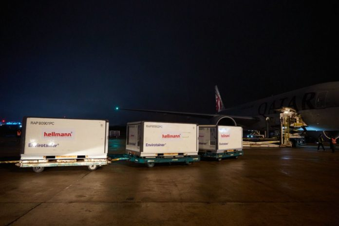 Hoy llega un cargamento con más de 1.700.000 dosis de la vacuna Sinopharm.