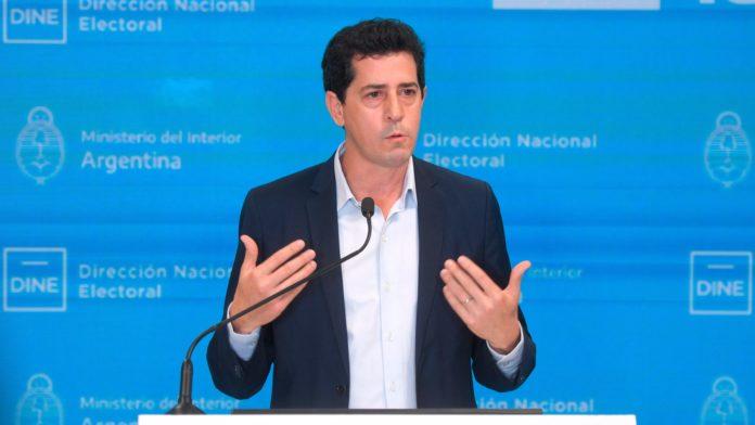 """El ministro del Interior, Eduardo """"Wado"""" de Pedro"""