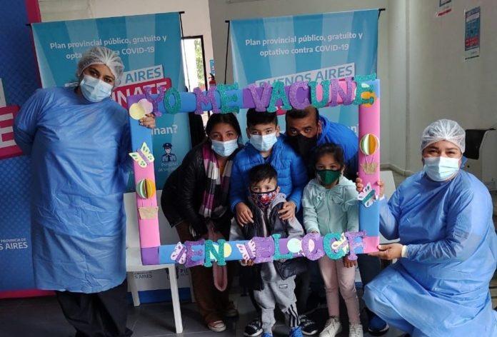 Provincia comenzó a inmunizar a niños y niñas menores de 12 años