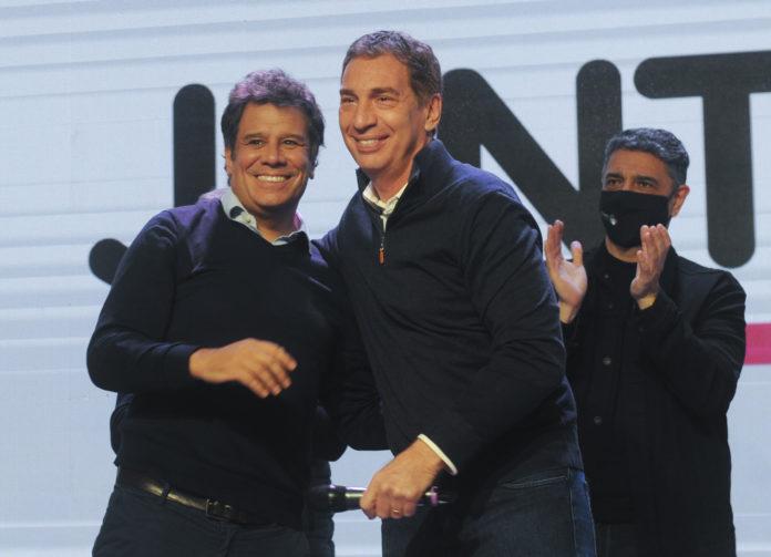 Santilli y Manes relanzan la campaña de Juntos de cara a las generales