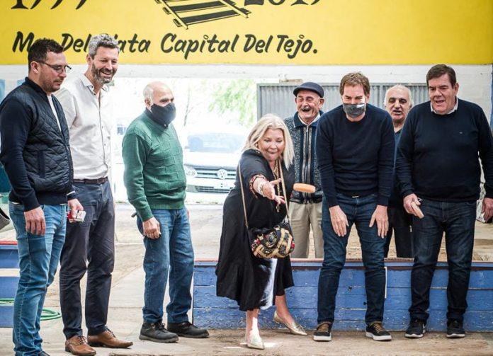 """Santilli visitó Mar del Plata junto a Carrió y dijo que """"otra provincia es posible"""""""