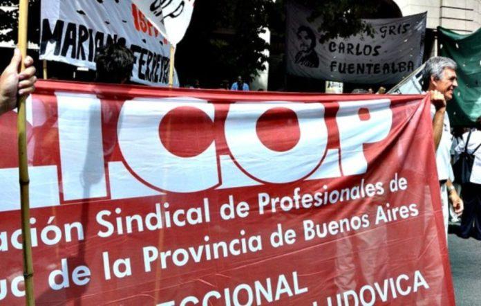 Los profesionales de la Cicop paran por 24 horas y se movilizan a La Plata.