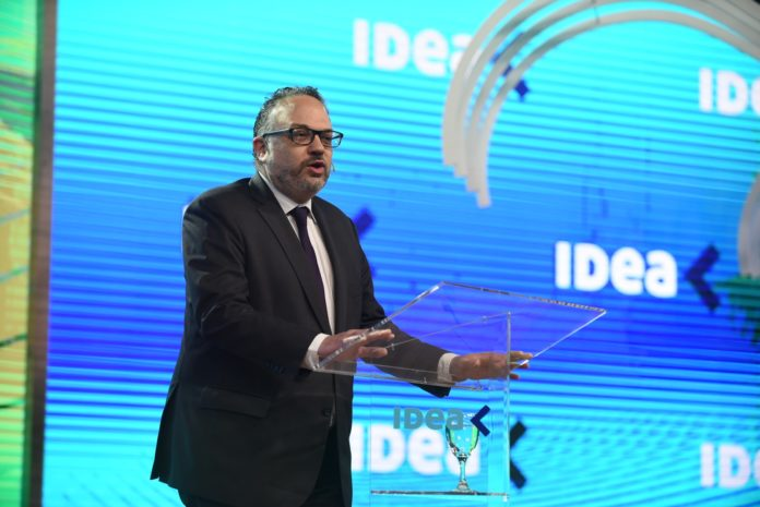 El ministro de Desarrollo Productivo, Matías Kulfas, expuso en el Coloquio de IDEA. (Télam)