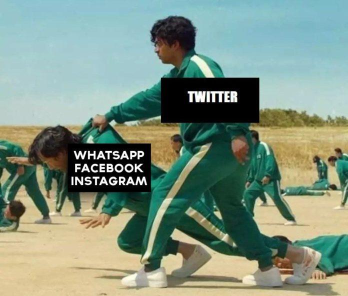 Tras la caída de Facebook y sus servicios, la web se llenó de memes, especialmente en Twitter.