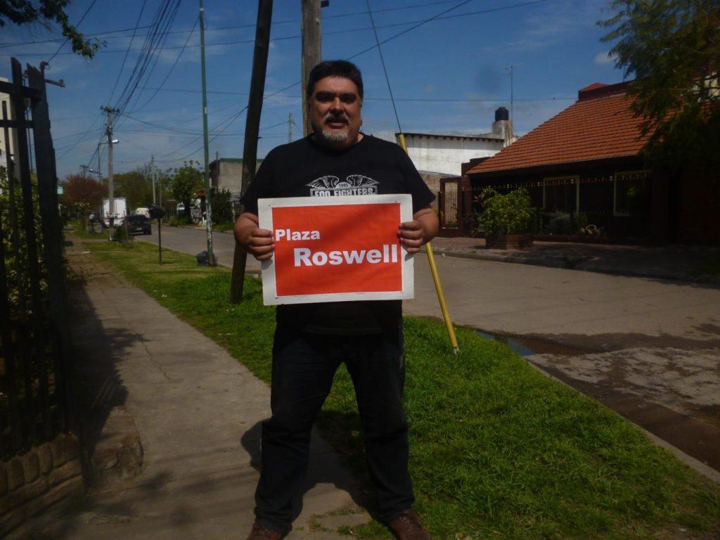 """Pablo Warmkraut afirma que lo ocurrido es un """"caso Roswell en Argentina"""". (Facebook)"""